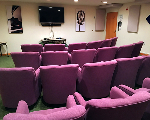 Our Well Equipped Theatre Room
