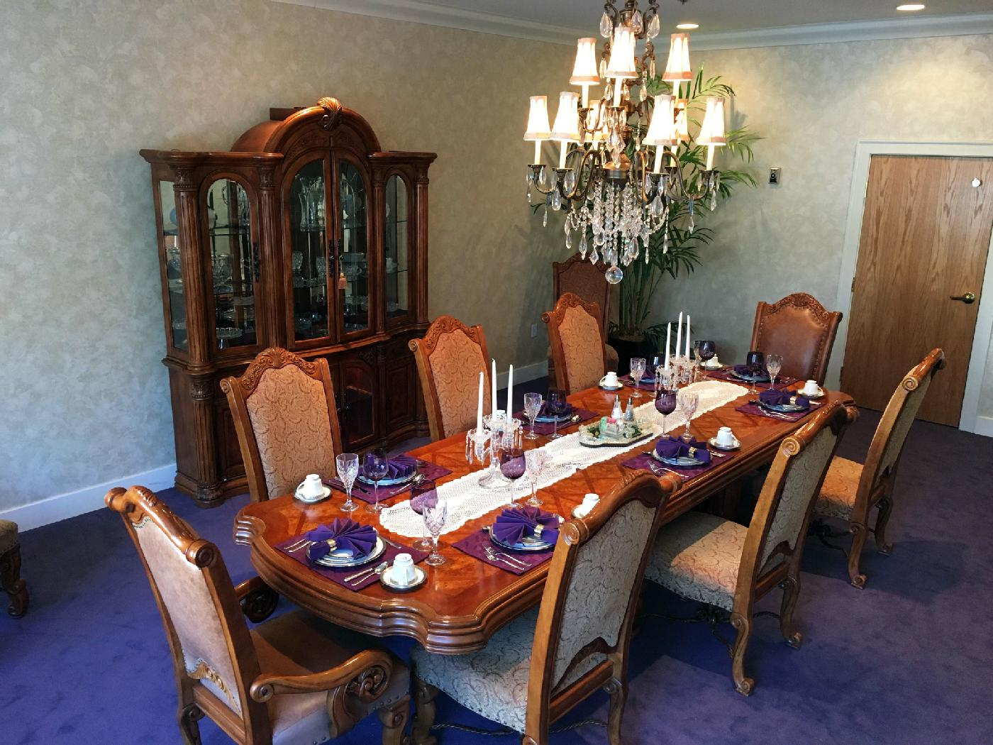 Private Dining Room at Whispering Winds
