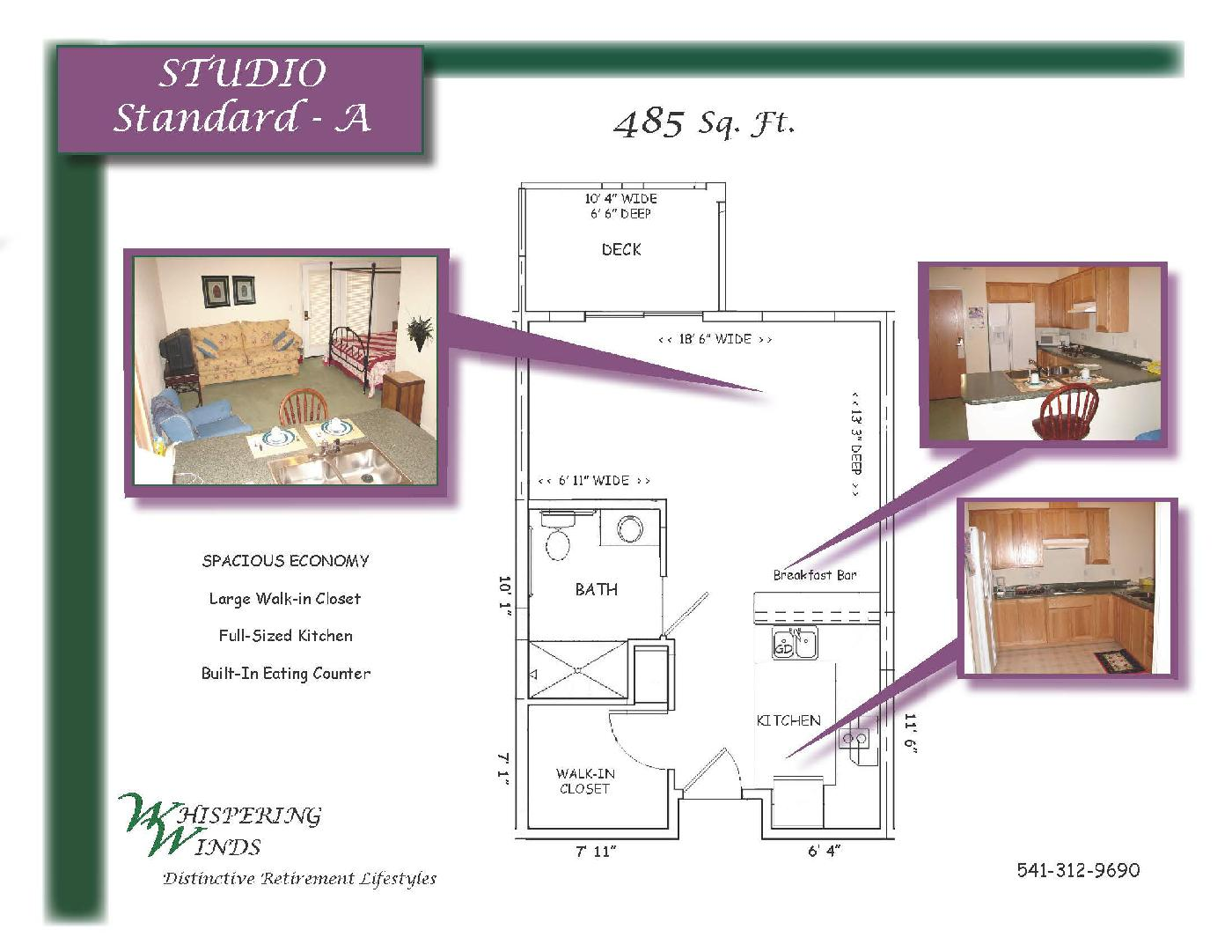 Layout Example - Studio Standard - A